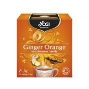 "Yogi Organic ""Ginger Orange"" (имбирь с апельсином)"