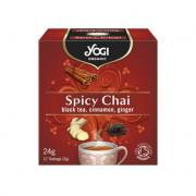"""Yogi Organic """"Spicy Chai"""" (пикантный чай с пряностями)"""