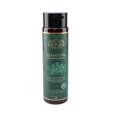 Натуральный шампунь для укрепления волос Jurassic Spa, 270 мл