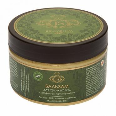 Натуральный бальзам для сухих волос с эффектом ламинирования Jurassic Spa, 300 мл