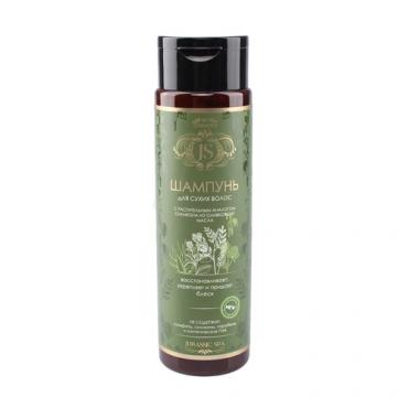 Натуральный шампунь для сухих волос Jurassic Spa, 270 мл