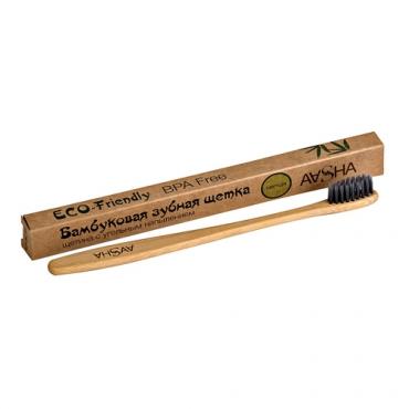 Бамбуковая зубная щетка (мягкая) Aasha Herbals