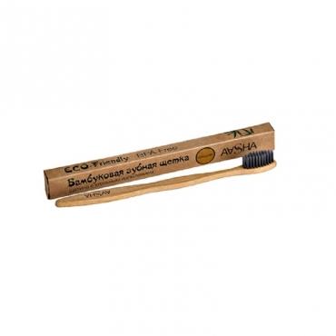 Бамбуковая зубная щетка (средняя) Aasha Herbals
