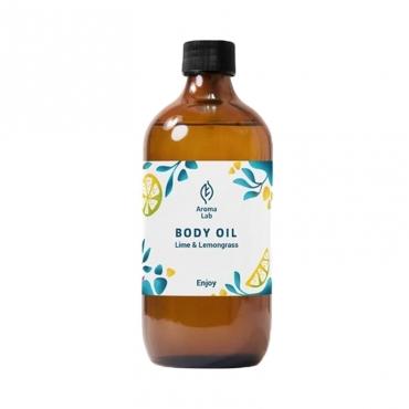 "Масло для тела антицеллюлитное ""Enjoy"" Lime&Lemongrass Aroma Lab, 250 мл"