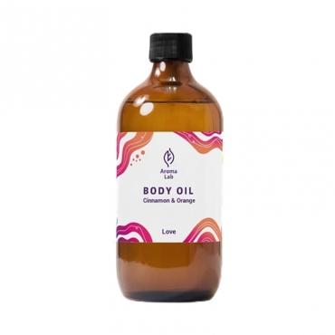 "Масло для массажа тела ""Love"" Cinnamon&Orange Aroma Lab, 250 мл"