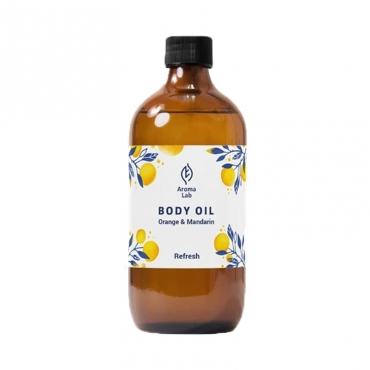 """Масло для массажа тела """"Refresh"""" Orange&Mandarin Aroma Lab, 250 мл"""