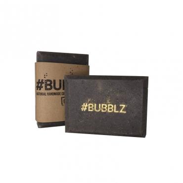 """Мыло натуральное """"Черная глина и масло Авокадо"""" BUBBLZ, 100 гр"""