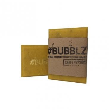 """Мыло натуральное """"Желтая глина и облепиховое масло"""" BUBBLZ, 100 гр"""