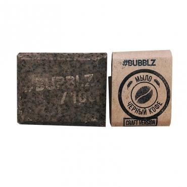 """Мыло натуральное """"Черный кофе"""" BUBBLZ, 100 гр"""
