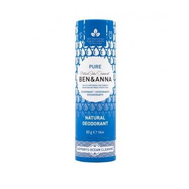 Дезодорант натуральный содовый без запаха Ben&Anna, 60 гр