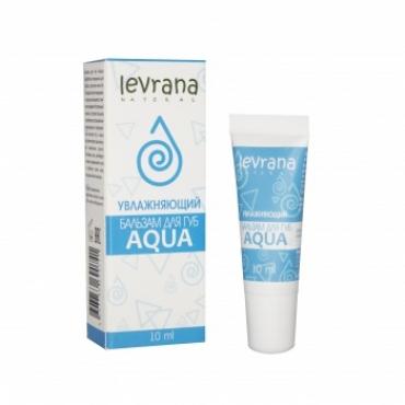 """Бальзам для губ """"Aqua"""" увлажняющий Levrana, 10 мл"""