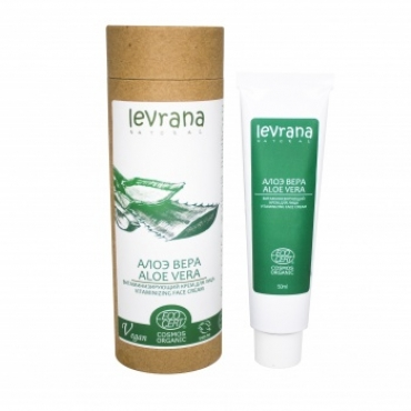 "Крем для лица ""Алоэ Вера"" витаминизирующий Levrana, 50 мл"