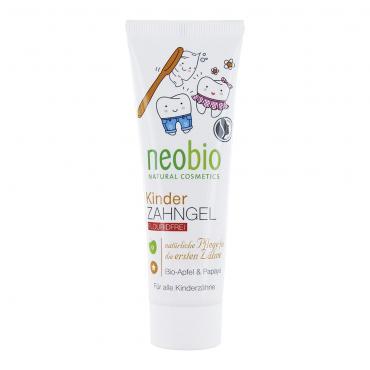 """Гелевая зубная паста для детей """"С био-яблоком и папайей"""" Neobio, 50 мл"""