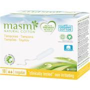 Гигиенические тампоны Regular из органического хлопка MASMI, 18 шт