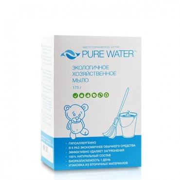 Мыло хозяйственное Pure water, 175 гр