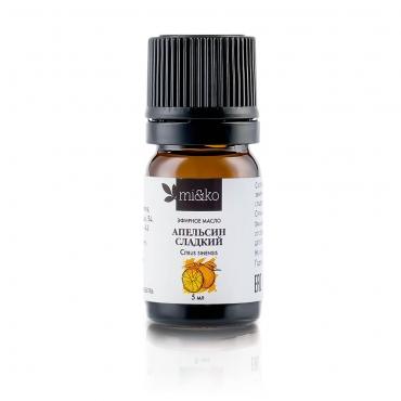Эфирное масло Апельсин сладкий Mi&Ko (Cosmos Organic), 5мл