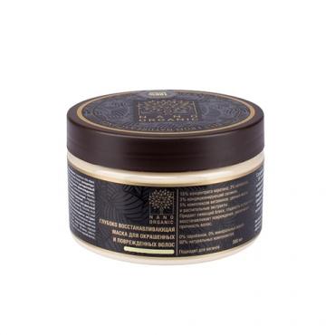 Глубоко восстанавливающая маска для окрашенных и поврежденных волос Nano Organic, 300 мл