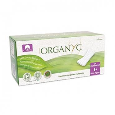 Прокладки на каждый день в индивидуальной упаковке Organyc, 24 шт