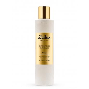 Глубоко очищающий гель-скраб для умывания Niqa для проблемной кожи Zeitun, 200 мл