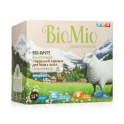 Экологичный стиральный порошок для белого белья с экстрактом хлопка без запаха BioMio, 1500 гр