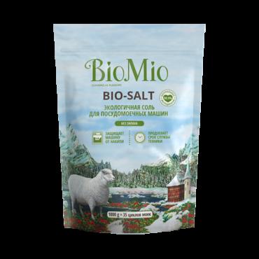 Экологичная соль для посудомоечных машин без запаха BioMio, 1000гр