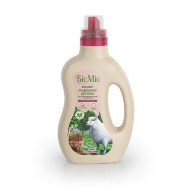 Кондиционер для белья с эфирным маслом корицы и экстрактом хлопка BioMio, 1000 мл