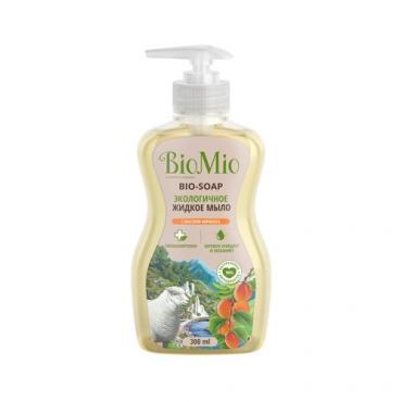 Мыло жидкое с маслом абрикоса BioMio, 300 мл