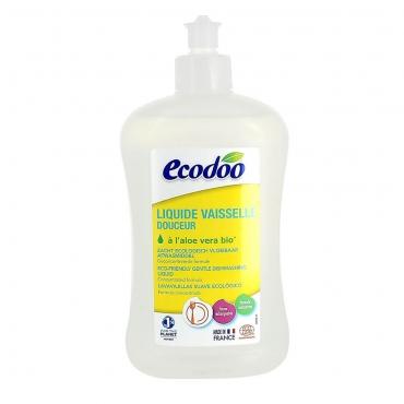 Средство для мытья посуды с алоэ вера Ecodoo, 500 мл