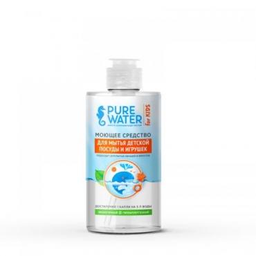 Средство моющее для мытья детской посуды Pure Water, 450 мл