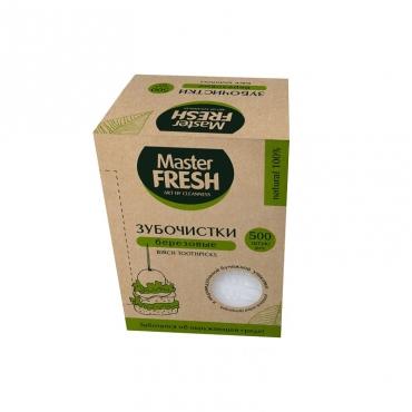 Зубочистки Master FRESH ECO LINE,  500 шт