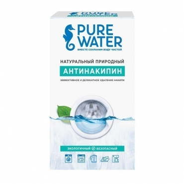 Натуральный природный Антинакипин (лимонная кислота) Pue Water, 400 гр