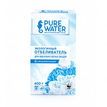 Отбеливатель для одежды экологичный Pure Water, 400 гр