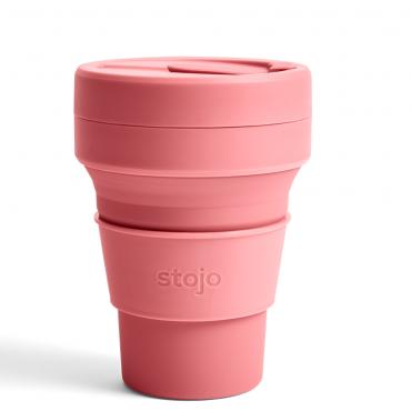 """Складной силиконовый стакан Stojo """"Ягода"""", 355 мл"""