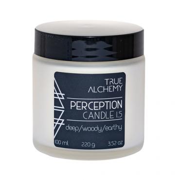 "Свеча ""PERCEPTION"" True Alchemy, 220 гр"