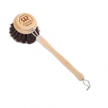 Щетка для мытья посуды с мягкой щетиной с ручкой Redecker