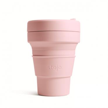 """Складной силиконовый стакан Stojo """"Гвоздика"""", 355 мл"""