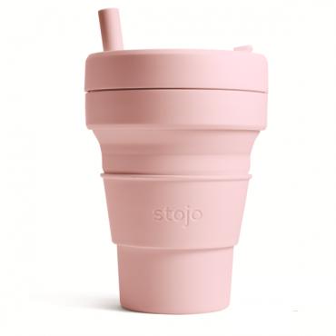 """Складной силиконовый стакан Stojo """"Гвоздика"""", 470 мл"""