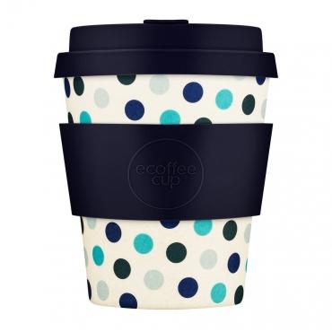 """Эко-чашка Ecoffee Cup """"Синий горох"""" 250 мл"""