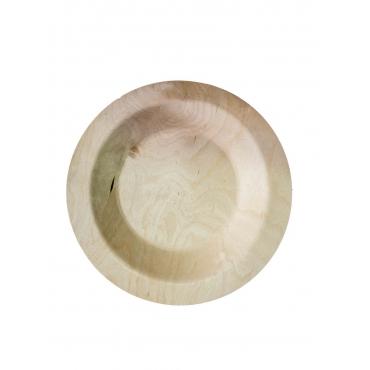 Набор деревянных круглых тарелок 230 мм х 6 шт