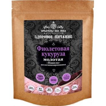 Кукуруза фиолетовая молотая Продукты XXII века, 100 гр