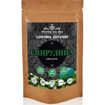 Спирулина таблетки Продукты XXII века, 50 гр