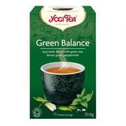 Yogi Tea «Green Balance» (зеленый чай с комбучей)