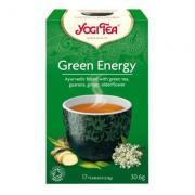 Yogi Tea «Green Energy» (зеленый чай с гуараной)