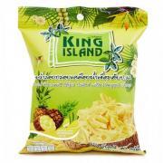 "Кокосовые чипсы King Island ""ананас"", 40 гр"