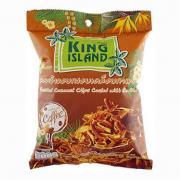 """Кокосовые чипсы King Island """"кофе"""", 40 гр"""
