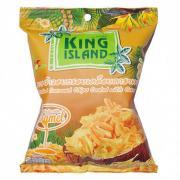 """Кокосовые чипсы King Island """"Карамель"""", 40 гр"""