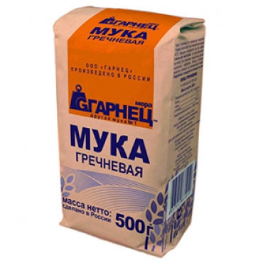 Мука гречневая Гарнец, 500 гр