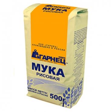 Мука рисовая Гарнец, 500 гр