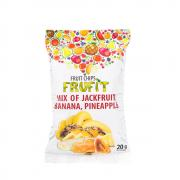 """Чипсы фруктовые """"Микс"""" (банан, ананас, хлебное дерево), 20 гр"""
