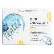 """Мини """"шоколад"""" из кэроба с ягодами годжи и изюмом Royal Forest, 30 гр"""